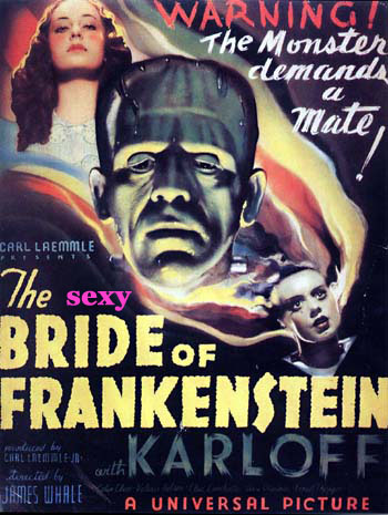 sexy bride of frankenstein