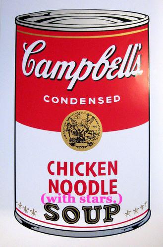 chicken noodle stars