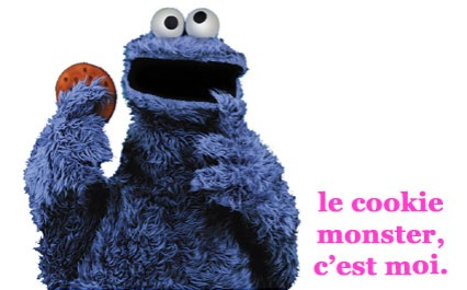 cookie monster c'est moi