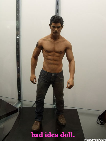 new moon taylor lautner action figure