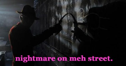 nightmare on meh street