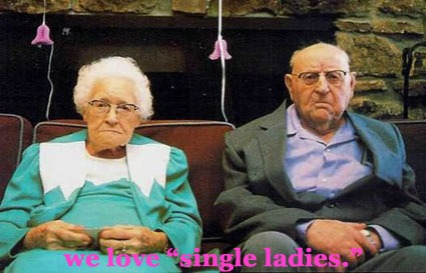old people love single ladies