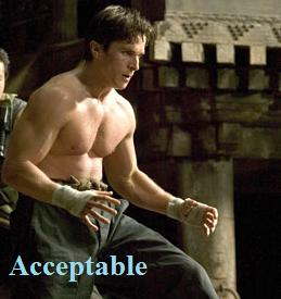 Christian Bale Shirtless