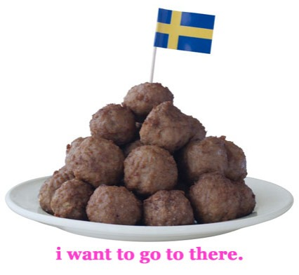 i want swedish meatballs