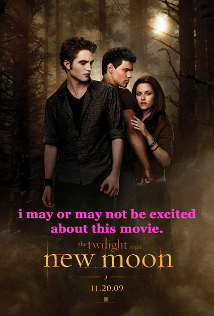 new moon excitement