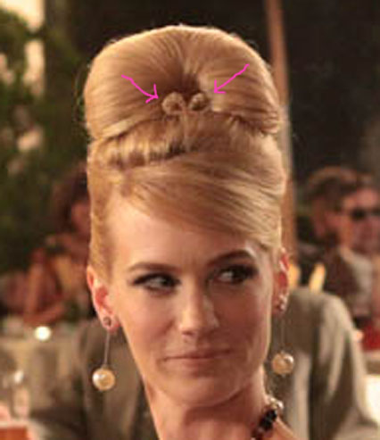 betty draper's hair bow