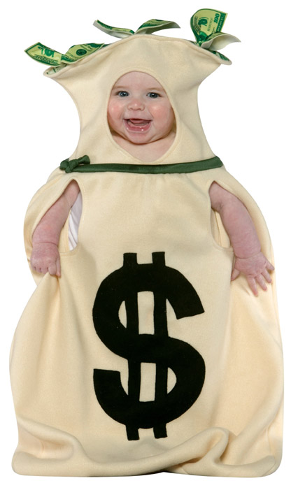 billion dollar baby costume
