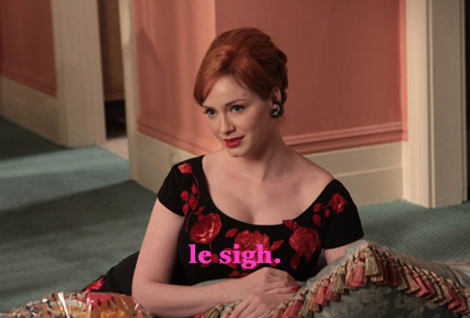 joan holloway le sigh