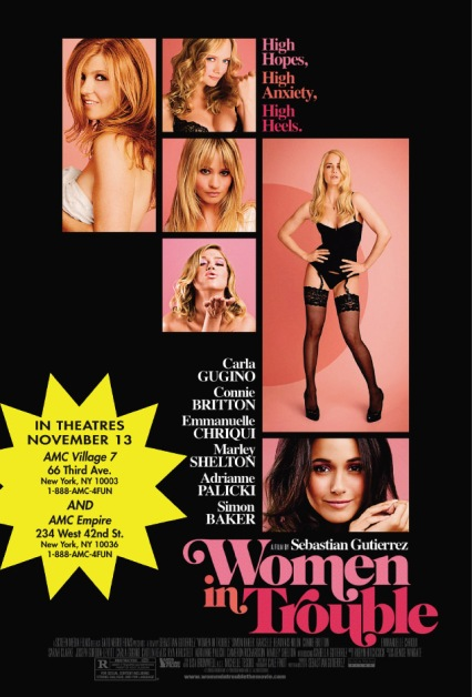 women in trouble poster