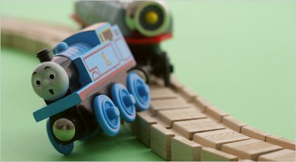 thomas the train wreck