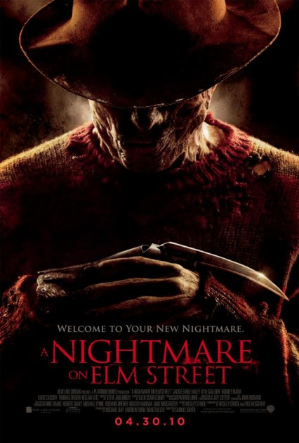 nightmare on elm street remake teaser poster 2