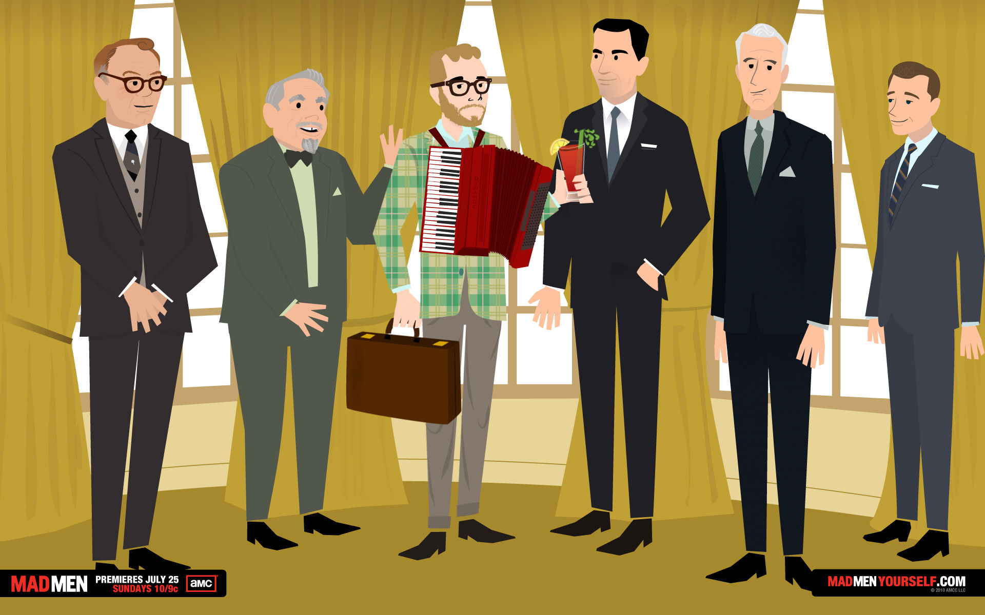 New Season of Mad Men Means a New Mad Men Yourself You!