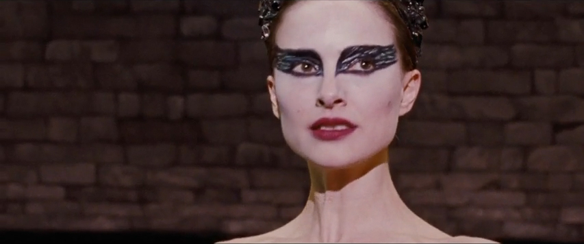 Fabulously stagey eye make-up à la Powell and Pressburger's The Red Shoes?