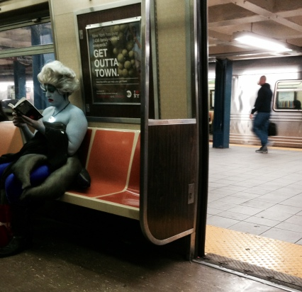 ursula on the mta