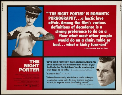 THE NIGHT PORTER - American Poster with reviews