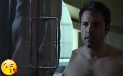 ben affleck gone girl shower