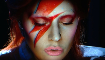 lady gaga david bowie tribute grammys